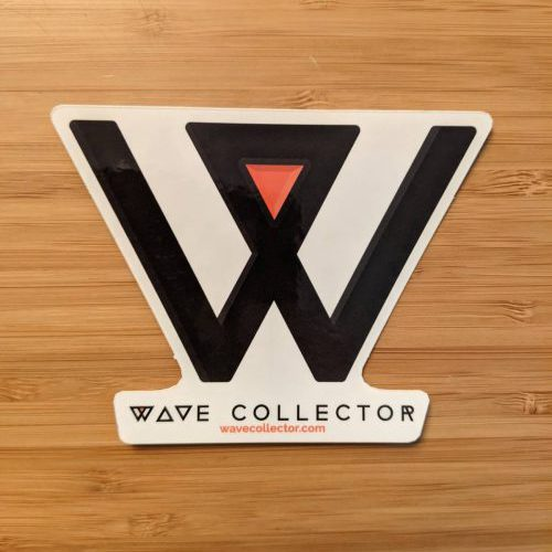 Wave Collector Die-Cut Sticker
